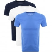 Product Image for Ralph Lauren 3 Pack Crew Neck T Shirts Navy